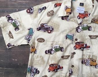Ford Car Print Shirt