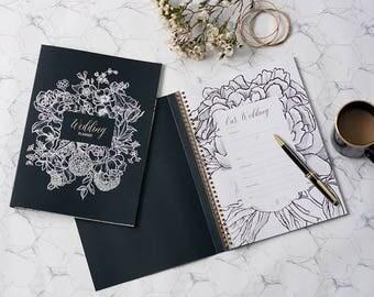 Wedding Planner / Wedding Planner Book / Wedding Organizer / Wedding Diary / DIY Wedding / Wedding Journal / Wedding Book / Bridal Book