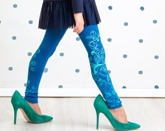 Water Lilies - KIDS leggings