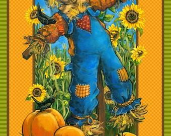 Sunny Daze, Scarecrow panel by Northcott