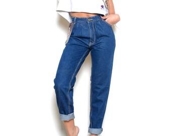 Deadstock 1980's JORDACHE High Waisted Jeans Sz 26W
