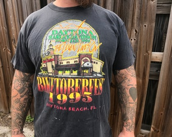 Vintage Harley-Davidson Bikeoberfest 95 Daytona shirt The Legend Lives On official Harley Davidson