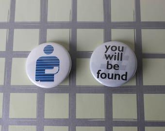 Dear Evan Hansen Musical Pins (Pinback Buttons) OR Magnets