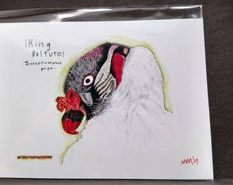 King Vulture Print