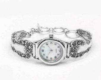 """Spoon Watch: """" Lady Helen"""" by Silver Spoon Jewelry"""