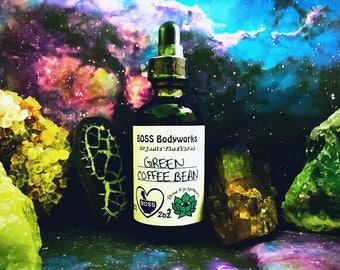 Organic GREEN COFFEE BEAN Tincture, Coffea Arabica Herbal Fluid Extract, fair trade, gluten free,