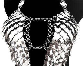 Dress 'Wings' - Cool FASHIONSTYLE in metal