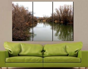 River Wall Art,River Canvas Print,River Print,Landscape Art,Landscape Photography,River View,River and Trees Art,Fall Art,Fall Season Art
