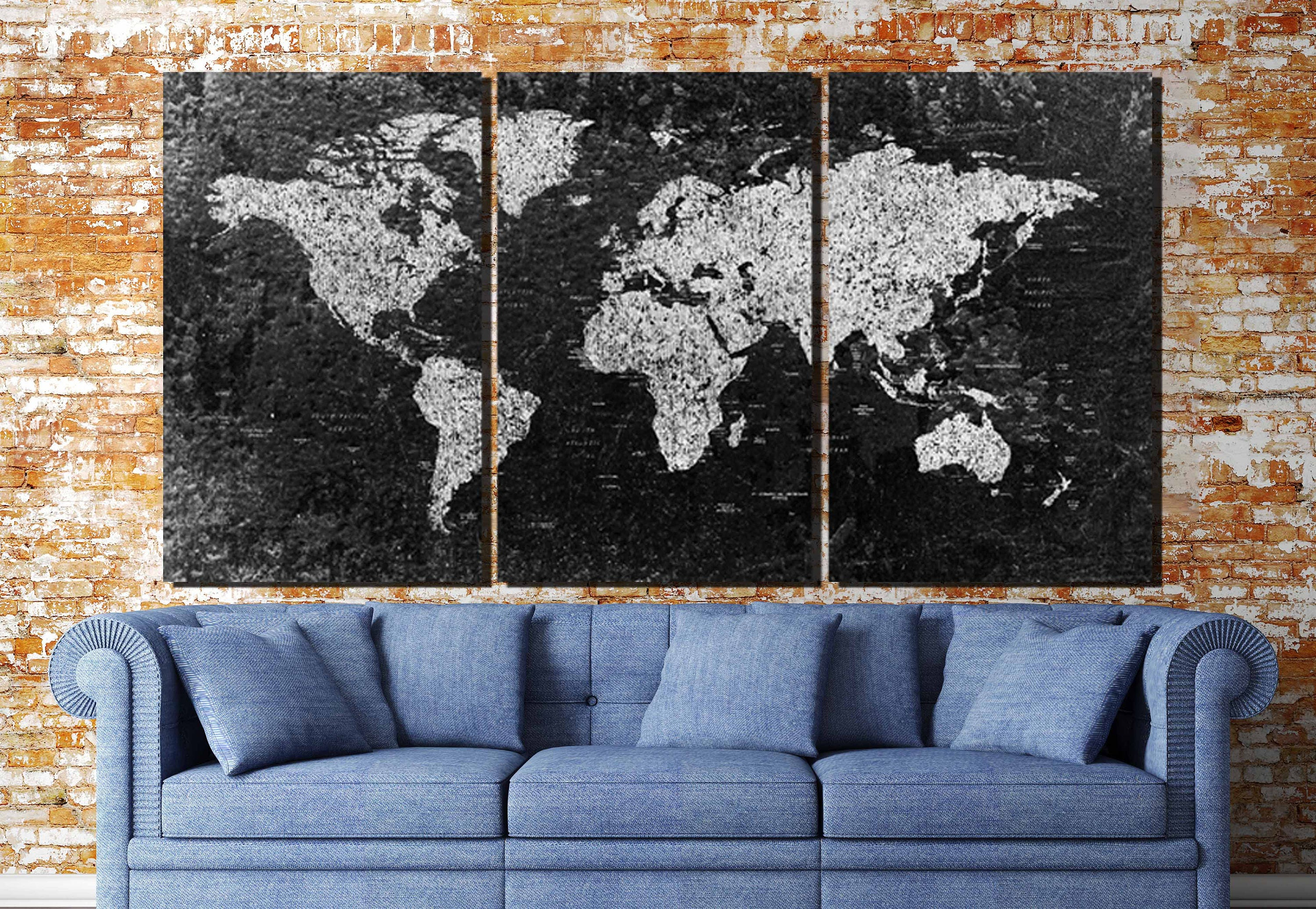 World map large black and white world mapworld map canvas black and white map art gallery photo gallery photo gallery photo gumiabroncs Images