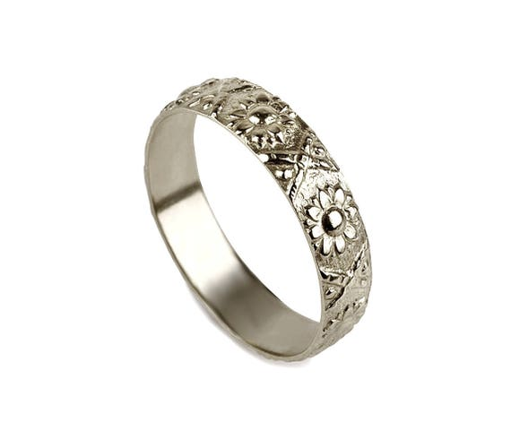 like this item - Flower Wedding Rings
