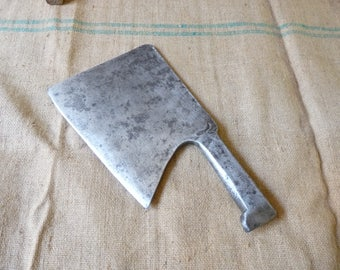 Forged Steel Meat Cleaver Butcher Cleaver Kitchen Knife Kitchen Decor 19th