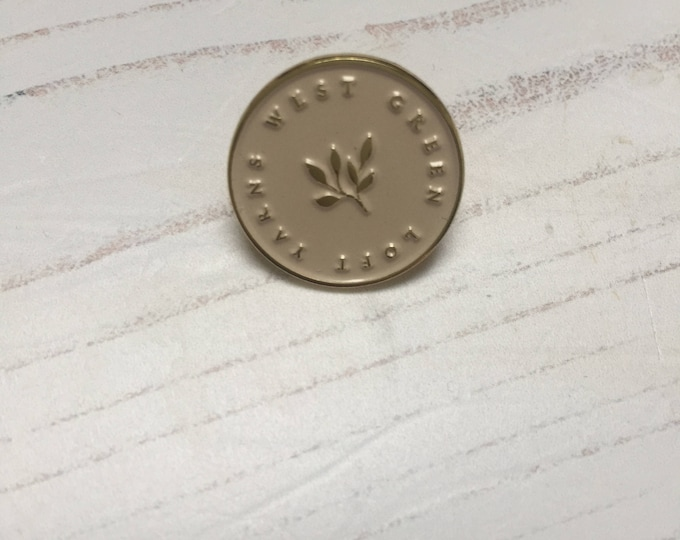 WGLY Enamel pin 20mm
