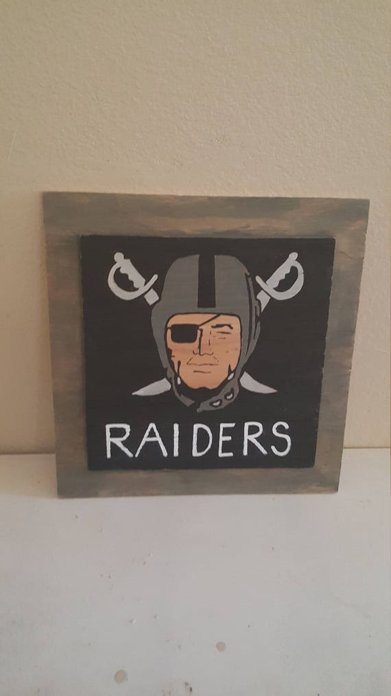 Man Cave Gifts Free Shipping : Free shipping football sign sports bar man cave raiders