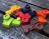 Tractor Crayons set of 20 - Tractor Party Favors - Farm Party Favors - Tractor Birthday Party - Farm Birthday Party Favors - Kids Gifts