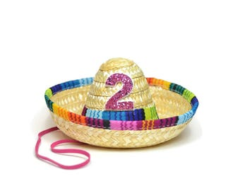 Taco Bout A Party|| Taco Bout Cute Fiesta Party || Taco Party Hat || Mini Sombrero || Uno Party Hat || Cinco De Mayo || Add Any Number