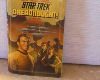 Star Trek-Vintage Paperback-Dreadnought!-Diane Carey- Sci-Fi-Valentines- Birthday Gift Basket