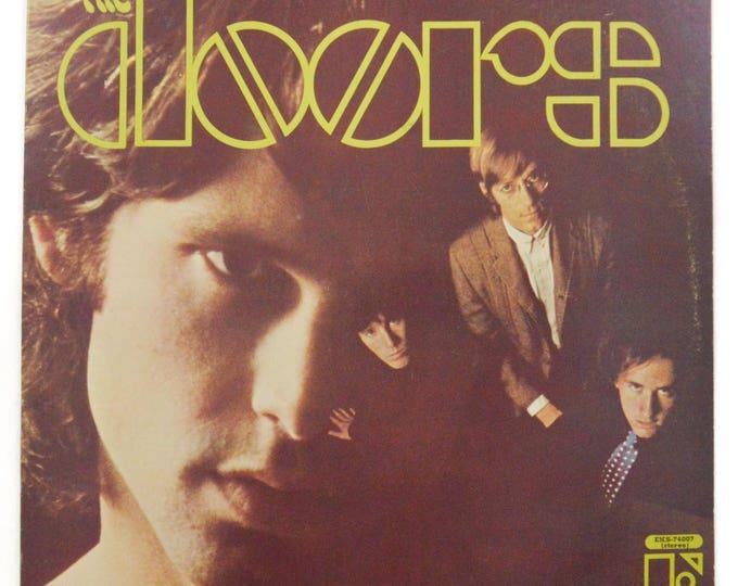 Vintage 60s The Doors Self Titled Debut Psychedelic Classic Rock Album Record Vinyl LP