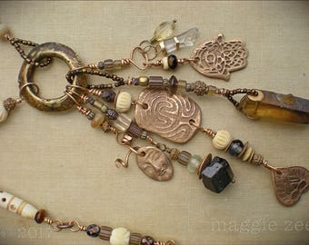 Lucky Protective Amulet Necklace