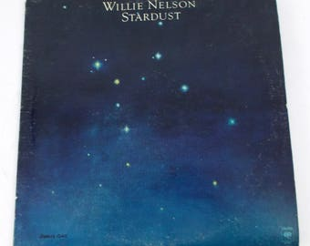 Willie Nelson Stardust Vinyl LP Record Album JC 35305