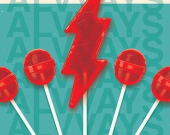 Alvvays // Fillmore San Francisco Poster // Nap Eyes // Lollipop // Wall Art // Concert Poster