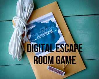 Escape Room Game The New Year's Ball Family Game At Home - Digital Game