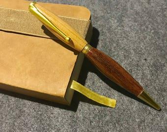 Office Pens, Wood Turned Pens, Two Tone, Wood Pen, Hand Turned Pens, Wooden Pens, Cool Pens, Fancy Pen,  Handcrafted Pens, Luxury Pen, OOAK