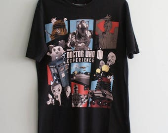 Unique Official BBC Doctor Who Expierience T-shirt, Geek Movie T-shirt