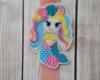 Mermaid Bow Holder, Clippie Keeper, Mermaid Clip Holder, Clip Holder