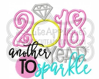 New years resolution etsy 2018 another year to sparkle 2018 new years new years celebration new voltagebd