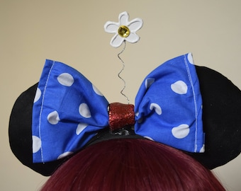 Vintage Minnie Mouse Ears - Old Classic Mickey Ears Headband