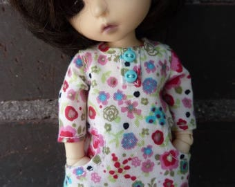 Dress for Lati yellow and Pukifee dolls.