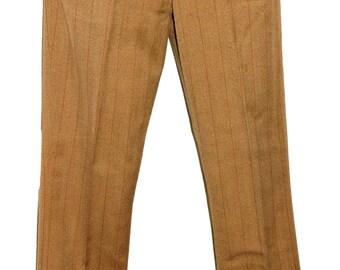 1960s Mens Bellbottom Pants 29x32 Vintage Retro Hippie