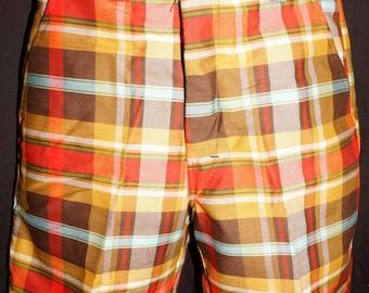 1960s Men's Shorts 31 Waist Vintage