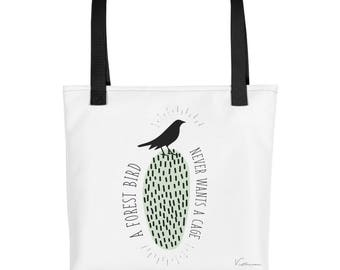 A Forest Bird Tote bag