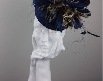 Dramatic hat suitable for Ascot, Dubai World Cup, The Curragh, Cheltenham Races,Melbourne Cup, wedding guest