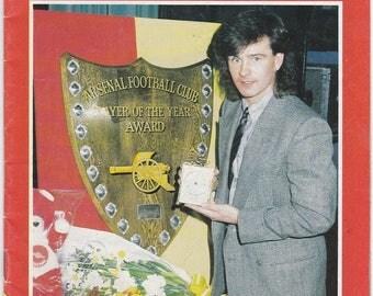 Vintage Football (soccer) Programme - Arsenal v Tottenham Hotspur, 1984/85 season