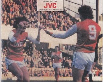 Vintage Football (soccer) Programme - Arsenal v Queens Park Rangers, 1983/84 season