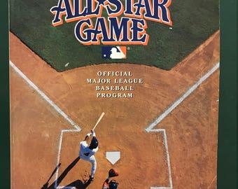 All Star Game 1992 Official Program