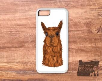 llama phone case / llama / alpaca iPhone case / llama case / alpaca / iPhone 6 case / iPhone 7 case / iPhone 7 plus case  iPhone 6 plus case
