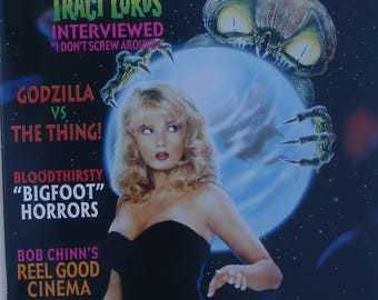 Traci Lords Cover Cult Movies Magazine #39 1989