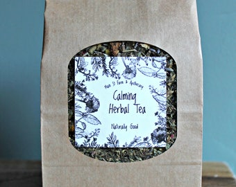 Calming Herbal Tea - Loose Leaf