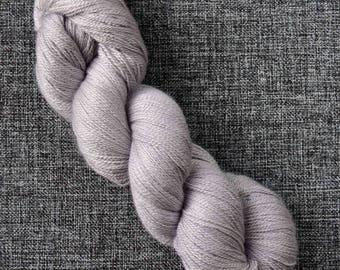 Snowflake Lace Merino / Silk yarn hand dyed skein