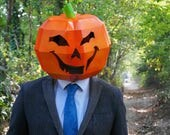 Pumpkin - Build and carve your own from cardboard