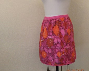 by Vera rare vintage 1960's wrap skirt