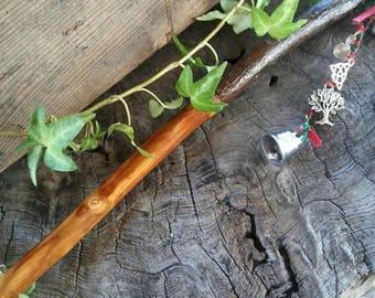 Druid Apple Wand, Apple Wand, Magic Wand, Wiccan Wand, Druid, Shaman, Witchcraft, Apple Tree, Apple Wood Wand