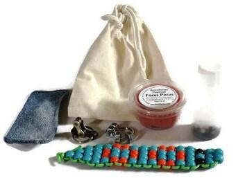 Focus Fidget Kit, Focus Toys, Calming Kit, Anxiety Kit, Fidget Toys, Sensory Fidget, Fidgets, Calming Sensory Toys, Stress Relief, Focus Aid