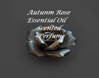 Essential oil perfume, Rose Perfume, Essential Oil Fragrance, Roll on Fragrance, Roll On Perfume, All natural perfume, Perfume, Autumn Rose