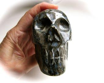 Que Sera Stone Llanite Crystal Skull 85mm 442g