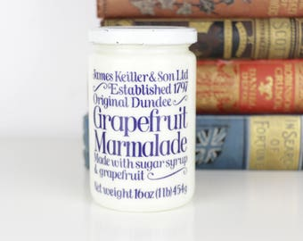VintageJar Pot Marmalade Grapefruit James Keiller & Son Dundee