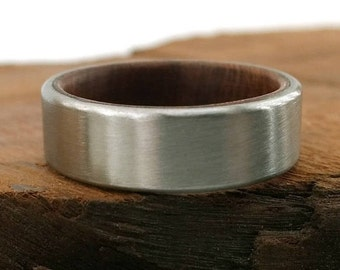 Redwood Ring, California Redwood, California Jewelry, California Ring, Redwood Jewelry, Handmade Redwood, Giant Tree Ring, Modern Jewelry